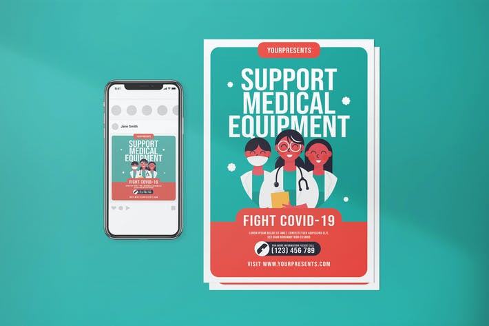 Thumbnail for Support Medical Equipment Fight Covid-19