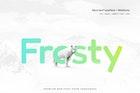 Frosty - Modern Typeface + WebFonts