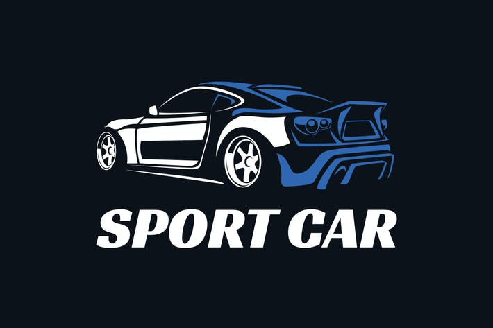 Thumbnail for Sport Car Elegant Logo Template