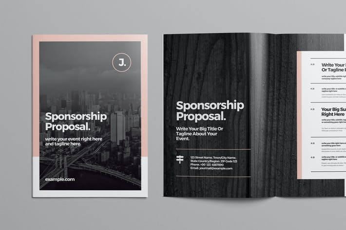 Thumbnail for Sponsorship Proposal Template