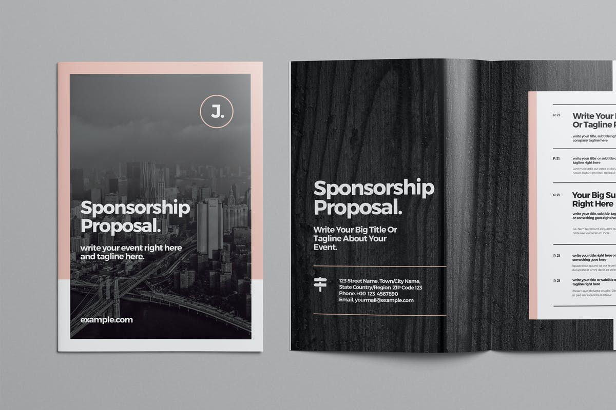 Sponsorship Proposal Template by broluthfi on Envato Elements