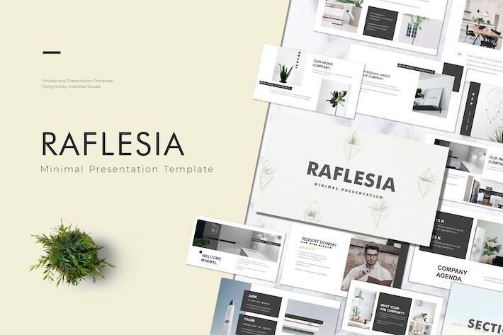 Thumbnail for RAFLESIA - Keynote Template
