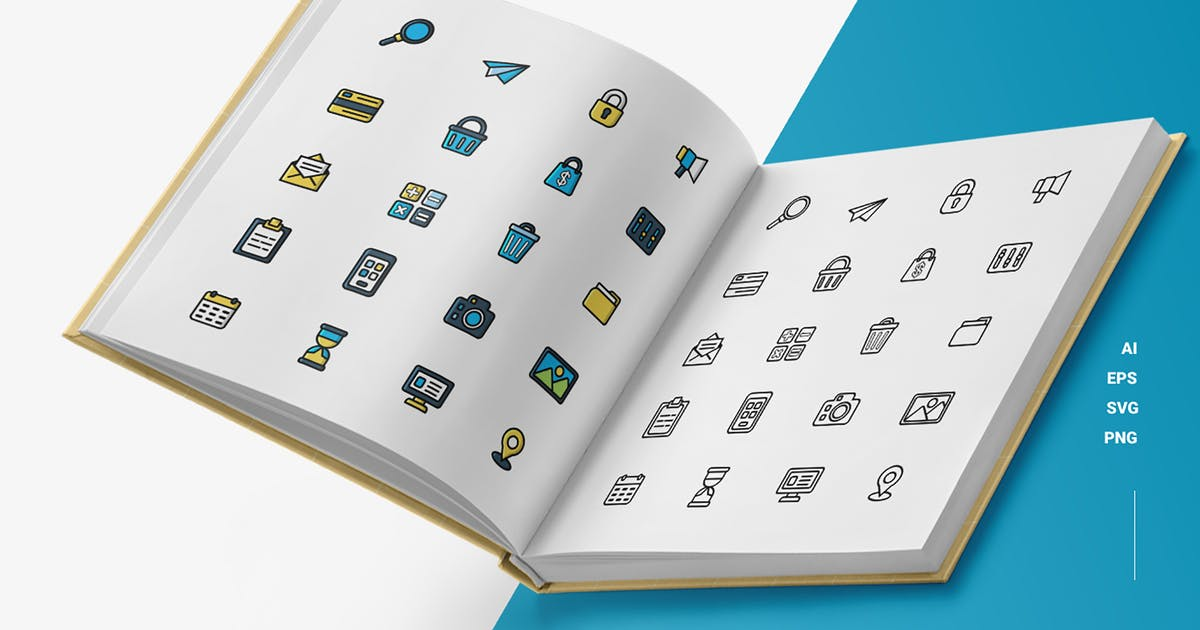Download Essentials - Icons by esensifiksi