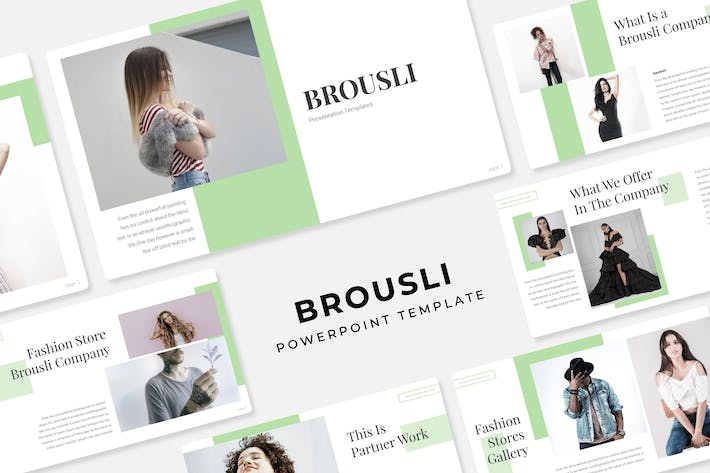 Thumbnail for Brousli - PowerPoint Template