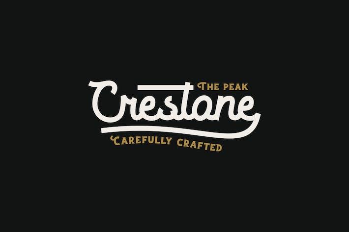 Thumbnail for Crestone Font