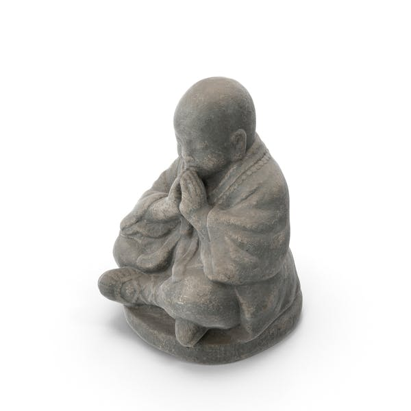 Thumbnail for Small Monk Sculpture
