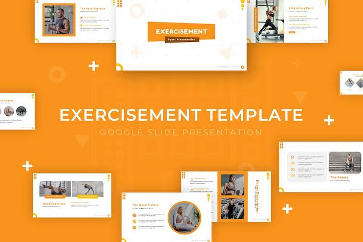 Exercisement - Google Slide Template