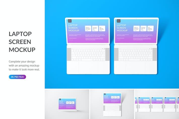 Thumbnail for Unicolor Laptop Mockup