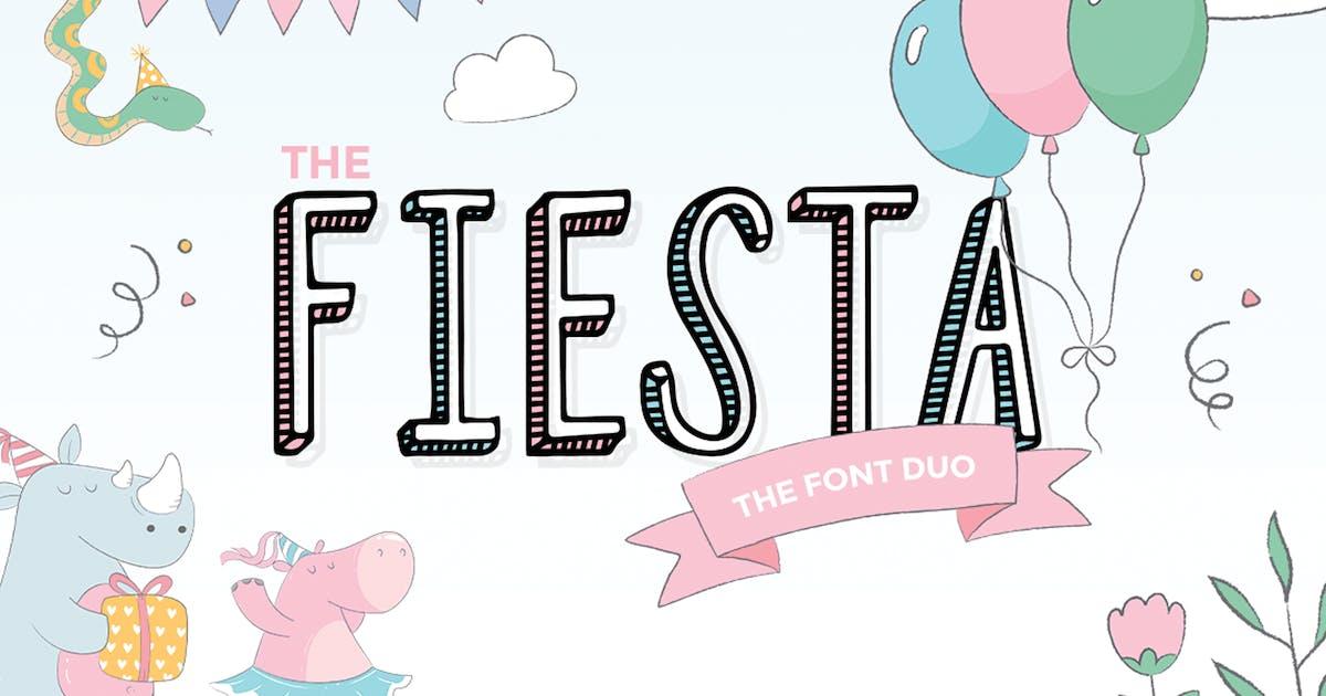 Download Fiesta Font Duo by maroonbaboon