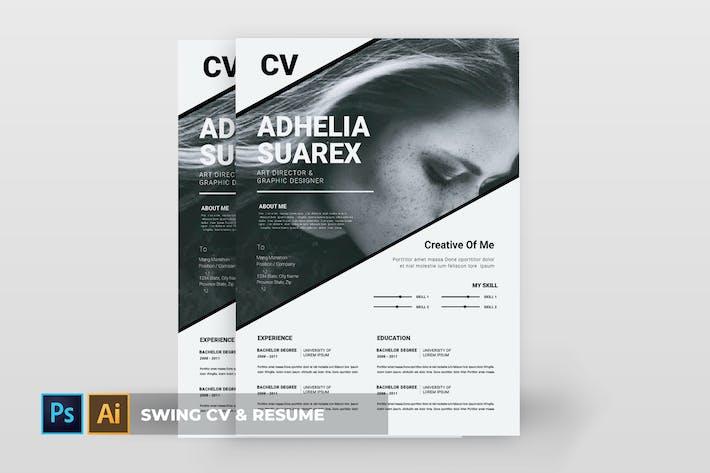 Thumbnail for Swing   CV & Resume