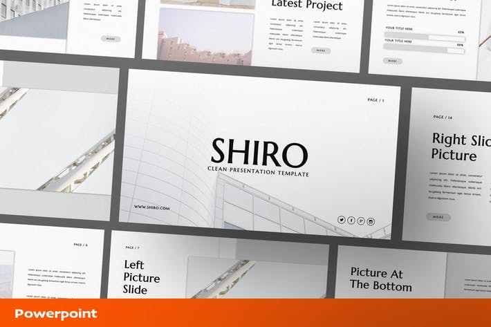 Shiro Powerpoint Presentation Template