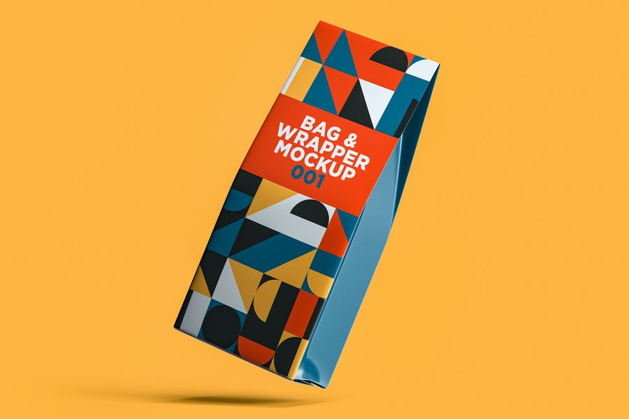 Bag & Wrapper Mockup 001