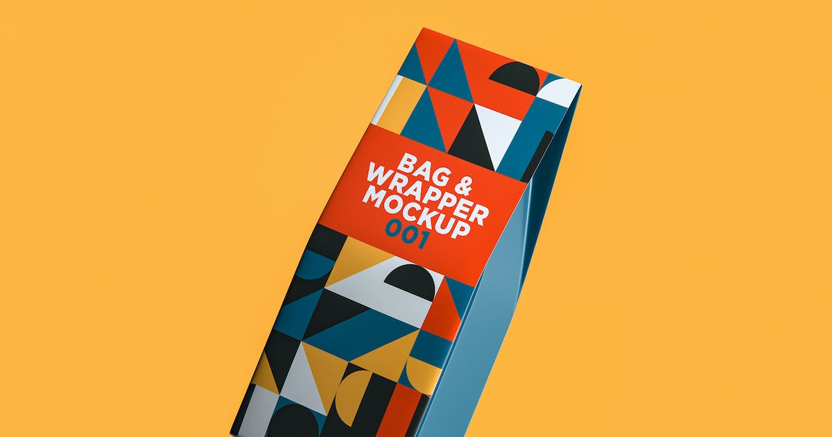 Download Bag & Wrapper Mockup 001 by traint