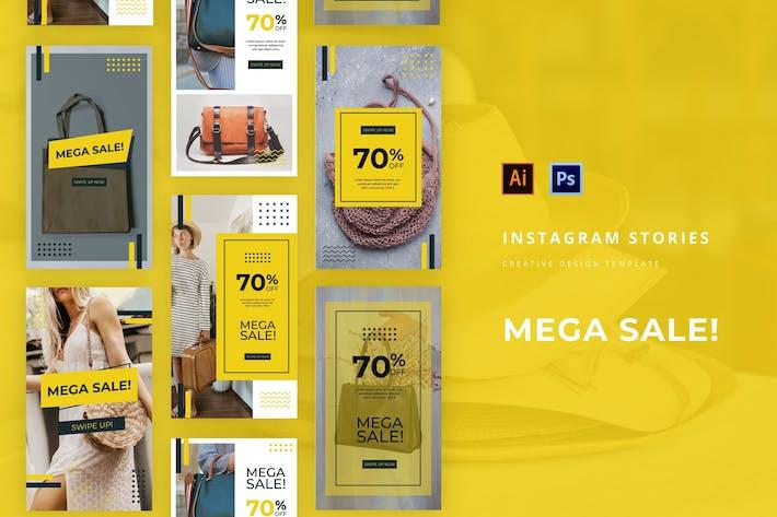 Thumbnail for Mega Sale Instagram Story Vorlage