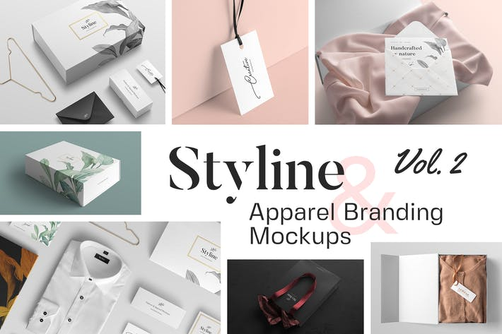 Thumbnail for Styline – Fashion and Apparel Mockups vol 2