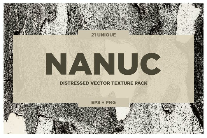 Thumbnail for NANUC - Vector Grunge Texture pack VOL. 2