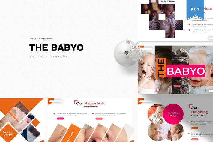 Thumbnail for The Babyo | Keynote Template