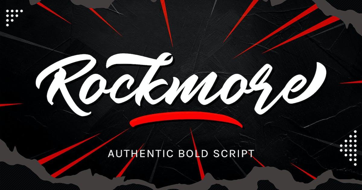 Download Rockmore - Authentic Bold Script by aditypotypea