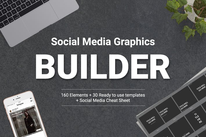 Thumbnail for Social Media Graphics Builder