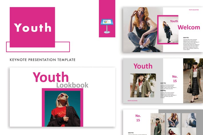 Thumbnail for Youth keynote Template
