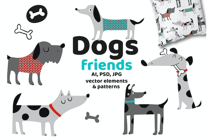 Thumbnail for Dogs Friends