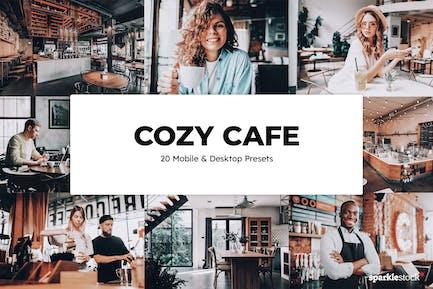 20 Cozy Cafe Lightroom Presets & LUTs