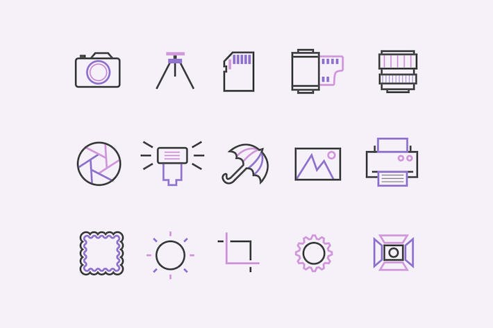 Thumbnail for 15 Photography Icons