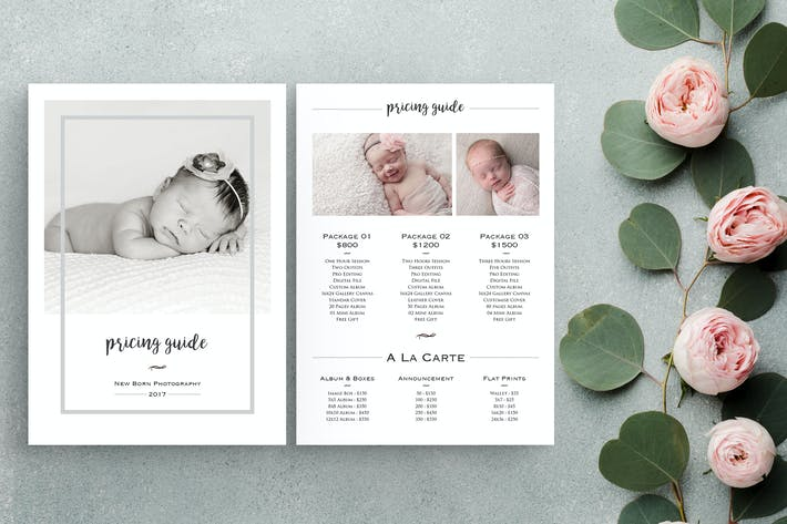 Thumbnail for New Born Photography Pricing List