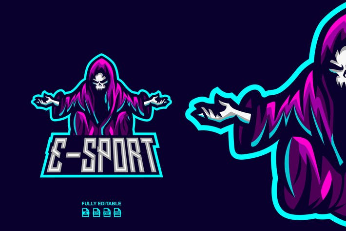 WITCH LOGO TEMPLATES