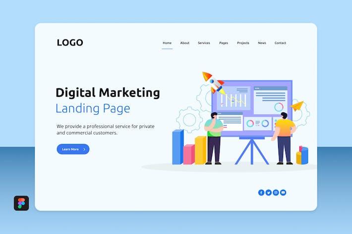 Thumbnail for Digital Marketing Landing 1