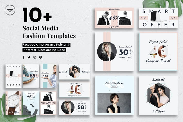Thumbnail for Social Media Fashion Templates