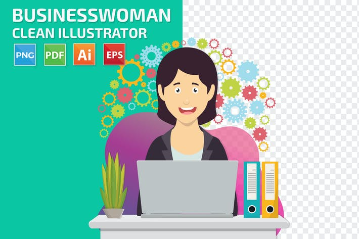 Thumbnail for Businesswoman Design