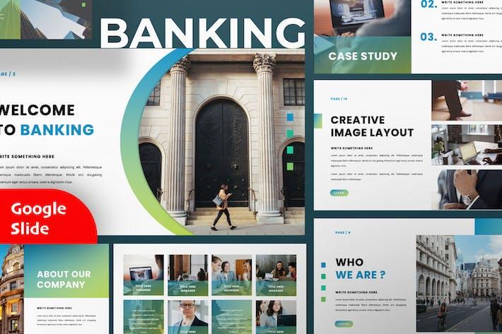 Thumbnail for Banking Google Slide Presentation Template