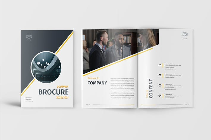 Thumbnail for Lio - Company Brochure Template