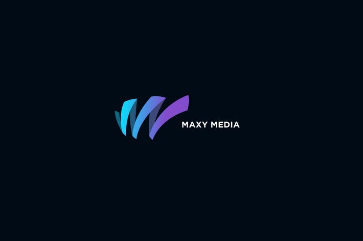 Thumbnail for Maxy - Letter M or W Logo