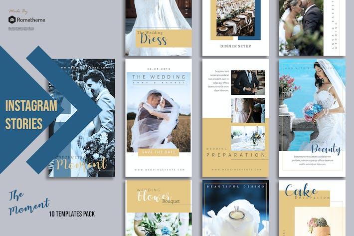 Thumbnail for Wedding Moment Instagram stories vol. 01