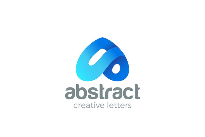 Thumbnail for Logo Letter A creative design