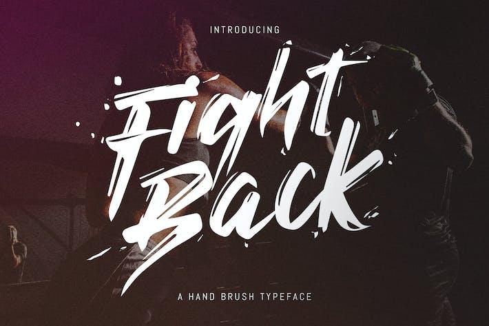 Thumbnail for Fight Back - Tipo de letra escrito a mano