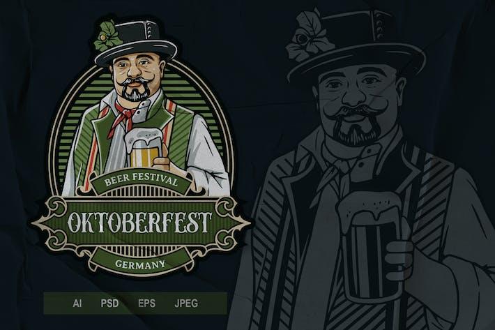 Thumbnail for Vintage Emblem - Oktoberfest V2