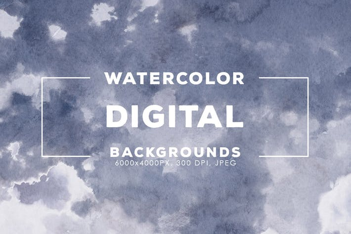 Thumbnail for 30 Digital Watercolor Backgrounds