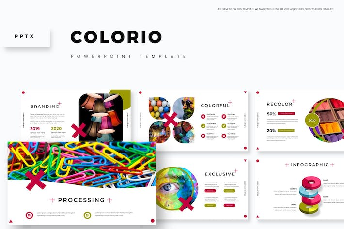 Cover Image For Colorio - Powerpoint Template