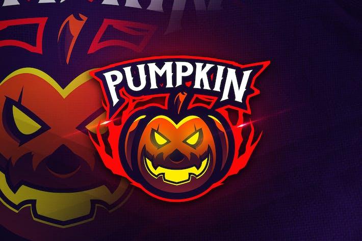 Thumbnail for Pumpkin Head - Mascot & Esports Logo
