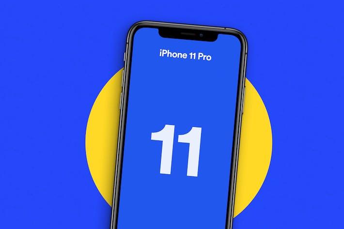 Thumbnail for iPhone 11 Pro Mockup