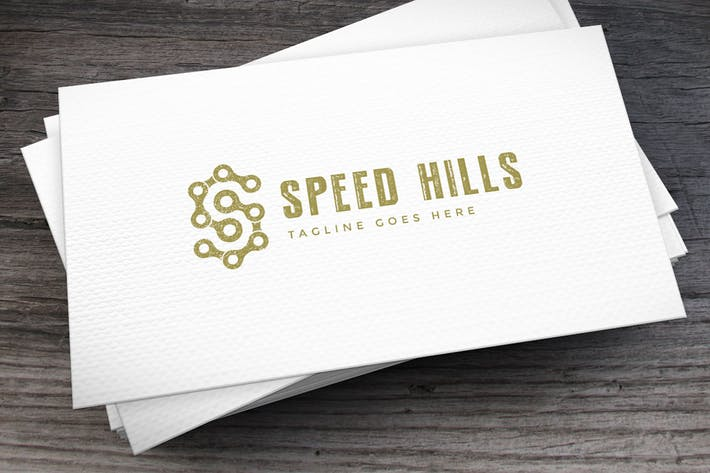 Thumbnail for Speed Hills Letter S Logo Template