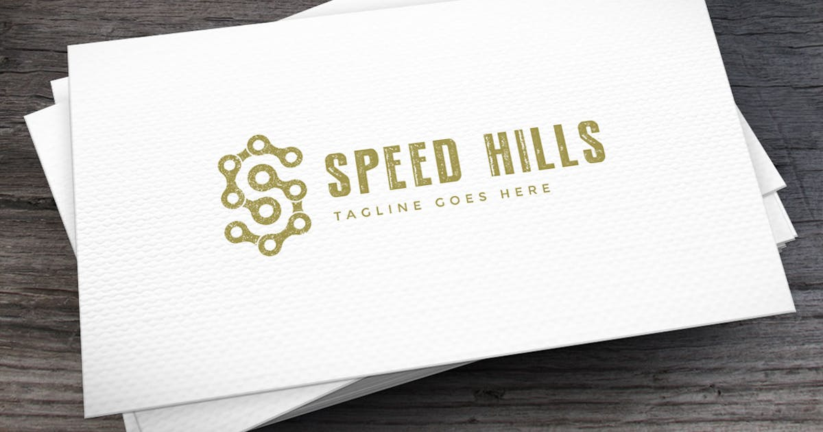 Download Speed Hills Letter S Logo Template by empativo