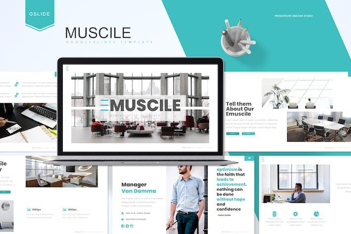Thumbnail for Emuscile - Бизнес Google Слайды Шаблон