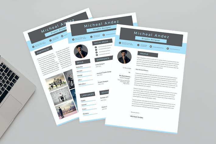 Thumbnail for CV Running Resume Designer