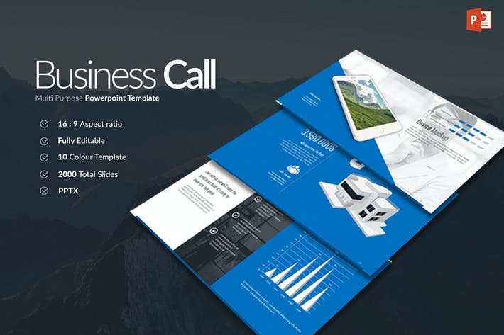 Thumbnail for Business Call Powerpoint Presentation
