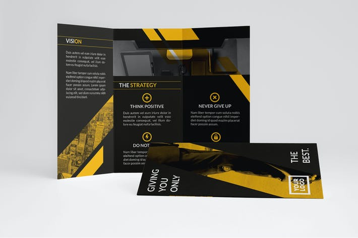 Thumbnail for Yellow Financial Trifold