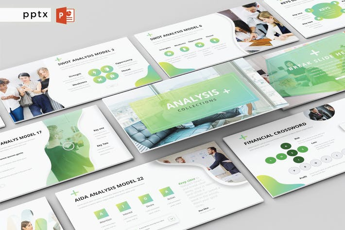 Thumbnail for ANALYSIS COLLECTION - Powerpoint  V287